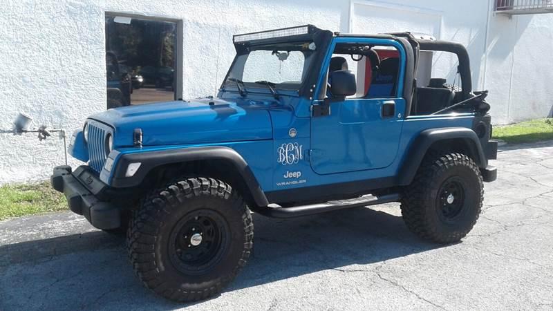 2003 Jeep Wrangler SE In Port Richey FL - Abbey Auto Sales LLC