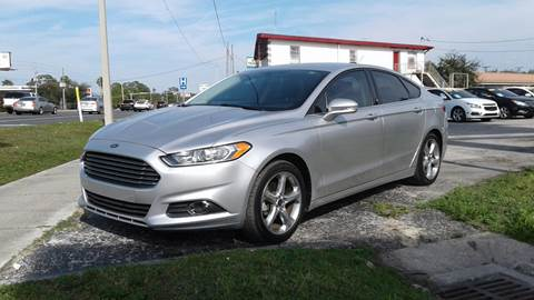 2014 Ford Fusion For Sale At Abbey Auto Sales LLC In Port Richey FL
