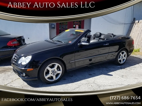 2007 Mercedes-Benz CLK for sale in Hudson, FL