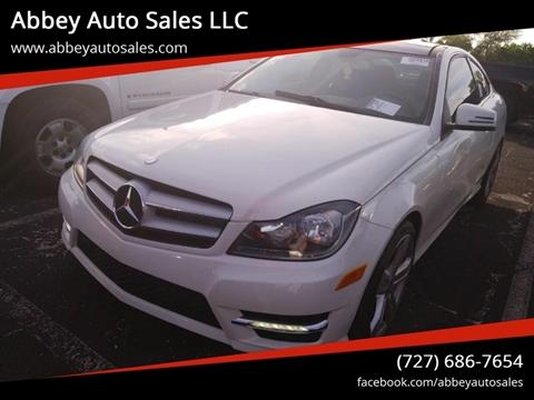 2012 Mercedes-Benz C-Class for sale in Hudson, FL