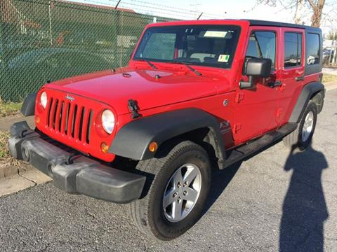 2008 Jeep Wrangler Unlimited for sale in Frederick, MD