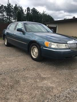 2001 Lincoln Town Car for sale in Gaylord, MI