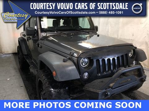 2014 Jeep Wrangler Unlimited for sale in Scottsdale, AZ