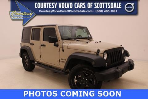2016 Jeep Wrangler Unlimited for sale in Scottsdale, AZ