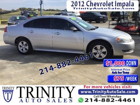 2012 Chevrolet Impala for sale in Dallas, TX