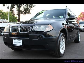 2004 BMW X3 for sale in Santa Ana, CA