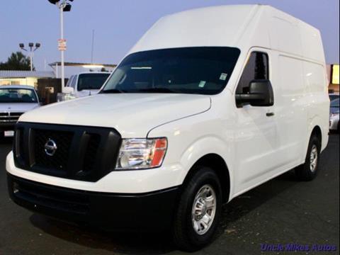 2013 Nissan NV Cargo for sale in Santa Ana, CA