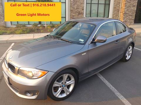 2012 BMW 1 Series for sale in Sacramento CA