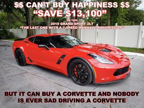 2019 Chevrolet Corvette for sale in Largo, FL