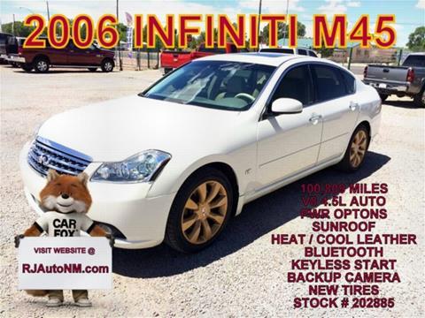 2006 Infiniti M45 for sale in Bosque Farms, NM