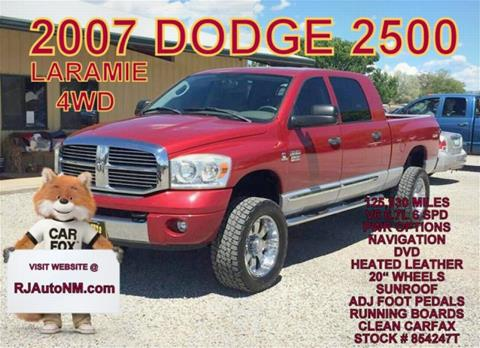 2007 Dodge Ram Pickup 2500 for sale in Bosque Farms, NM