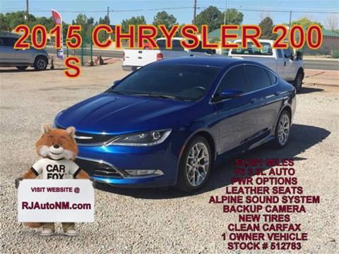 2015 Chrysler 200 for sale in Bosque Farms, NM