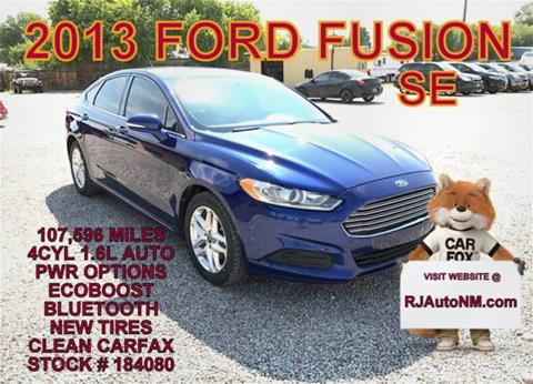 2013 Ford Fusion for sale in Bosque Farms, NM