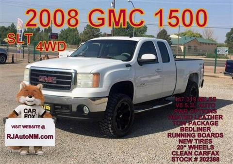 2008 GMC Sierra 1500 for sale in Bosque Farms, NM