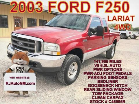 2003 Ford F-250 Super Duty for sale in Bosque Farms, NM