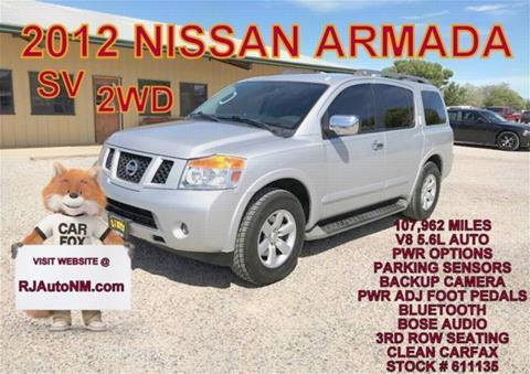 2012 Nissan Armada for sale in Bosque Farms, NM