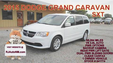 2015 Dodge Grand Caravan for sale in Bosque Farms, NM
