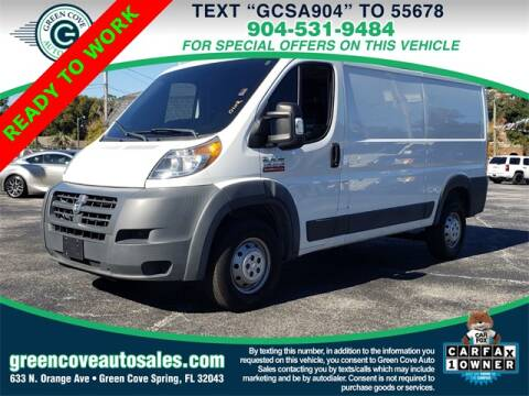 Cargo Van For Sale By Owner >> 2015 Ram Promaster Cargo For Sale In Green Cove Springs Fl