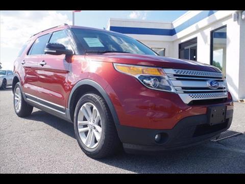 2014 Ford Explorer for sale in Virginia Beach VA