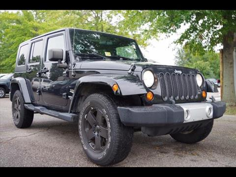 2008 Jeep Wrangler Unlimited for sale in Virginia Beach VA