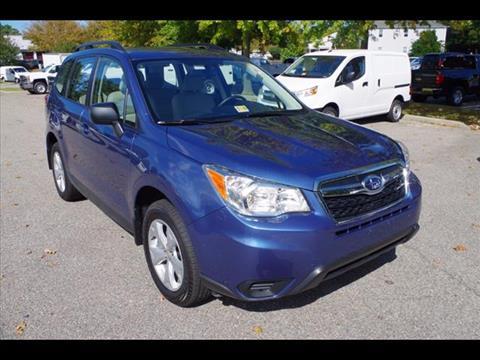 2016 Subaru Forester for sale in Virginia Beach, VA