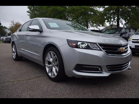 2016 Chevrolet Impala for sale in Virginia Beach VA