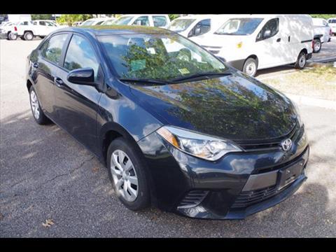 2015 Toyota Corolla for sale in Virginia Beach, VA