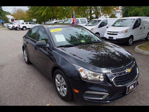 2015 Chevrolet Cruze for sale in Virginia Beach, VA