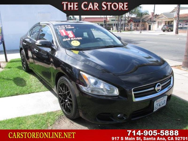 2013 Nissan Maxima For Sale At Discount Auto Mart In Riverside CA