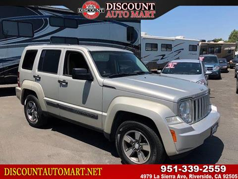 2008 Jeep Liberty for sale in Riverside, CA