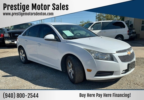 2012 Chevrolet Cruze for sale in Denton, TX