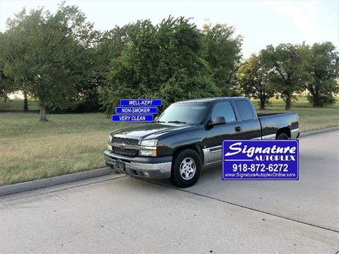 2003 Chevrolet Silverado 1500 for sale in Broken Arrow, OK