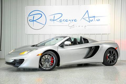 2013 McLaren MP4-12C Spider for sale in Frisco, TX