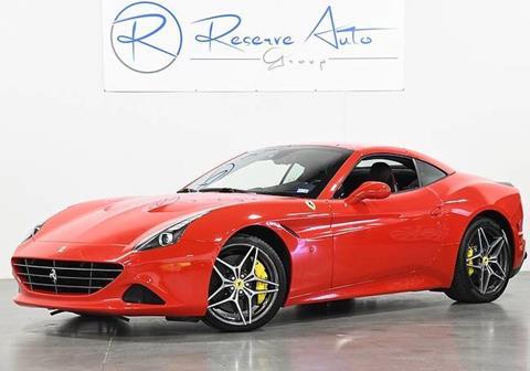 2017 Ferrari California T for sale in The Colony, TX