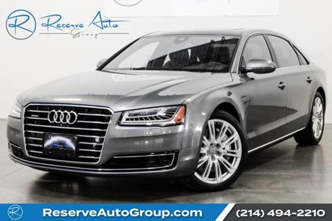 2016 Audi A8 L for sale in The Colony, TX