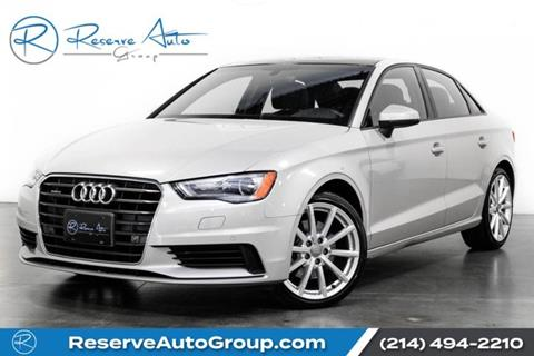 2016 Audi A3 for sale in The Colony, TX