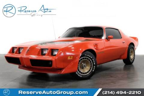 1980 Pontiac Trans Am for sale in The Colony, TX