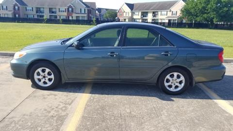 Used 2002 toyota camry for sale in texas for Scott harrison motors houston tx