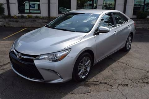 2016 Toyota Camry for sale in Huntsville AL