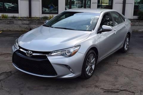 2016 Toyota Camry for sale in Huntsville AL
