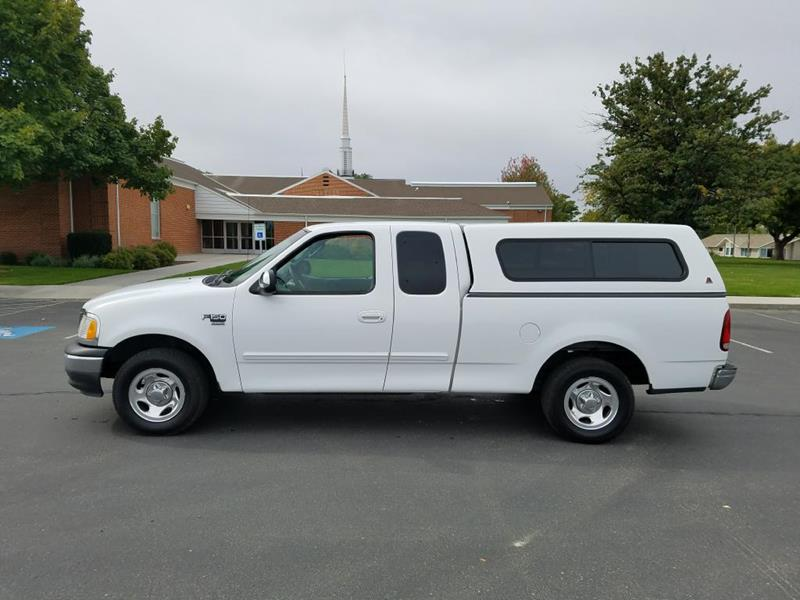 2002 Ford F-150 for sale at Huntsman Wholesale in Melba ID
