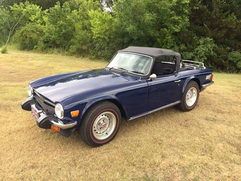 1976 Triumph TR6 for sale in Oklahoma City, OK