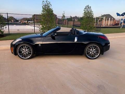 2004 Nissan 350Z for sale at Iconic Motors of Oklahoma City, LLC in Oklahoma City OK