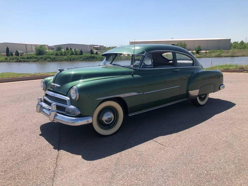 1951 Chevrolet Fleetline for sale at Iconic Motors of Oklahoma City, LLC in Oklahoma City OK