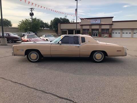1978 Cadillac Eldorado Biarritz for sale at Iconic Motors of Oklahoma City, LLC in Oklahoma City OK