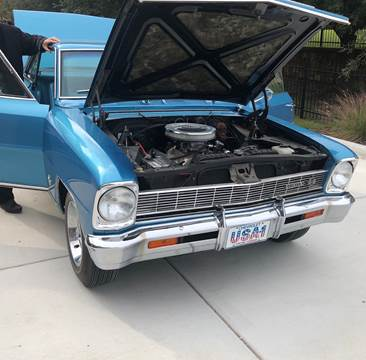1966 Chevrolet Nova for sale at Iconic Motors of Oklahoma City, LLC in Oklahoma City OK