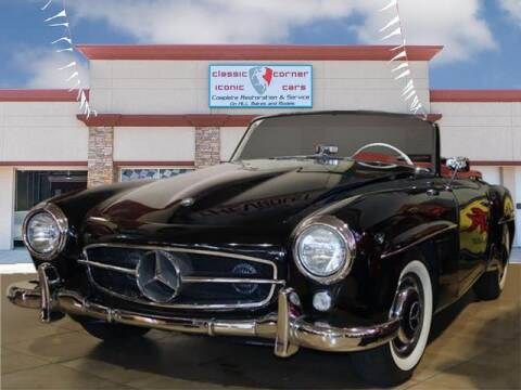 1959 Mercedes-Benz SL190 for sale at Iconic Motors of Oklahoma City, LLC in Oklahoma City OK