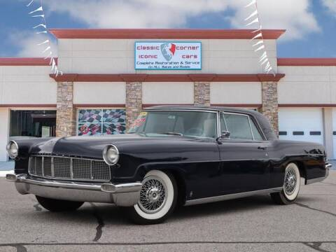 1957 Lincoln Continental for sale at Iconic Motors of Oklahoma City, LLC in Oklahoma City OK