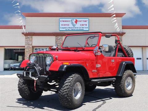 1985 Jeep CJ-7 for sale in Oklahoma City, OK