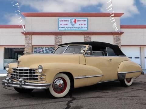 1947 Cadillac Eldorado for sale at Iconic Motors of Oklahoma City, LLC in Oklahoma City OK